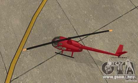Robinson R44 Raven II NC 1.0 piel 1 para visión interna GTA San Andreas
