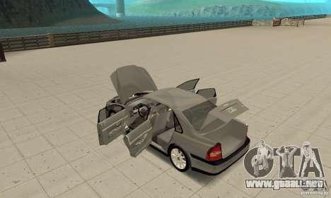 Volvo S80 1999 para visión interna GTA San Andreas
