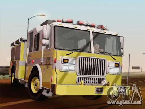 Seagrave Marauder II BCFD Engine 44 para GTA San Andreas