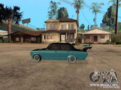ВАЗ 2107 Drift para GTA San Andreas left