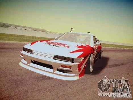 Nissan Silvia S13 Daijiro Yoshihara para GTA San Andreas left