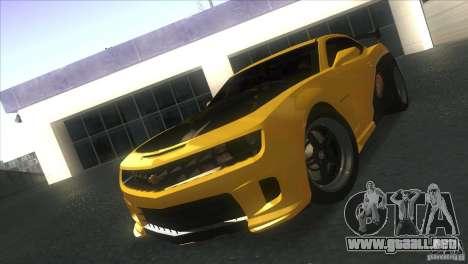 Chevrolet Camaro SS Dr Pepper Edition para GTA San Andreas