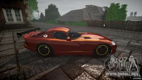 Dodge Viper 1996 para GTA 4 vista interior