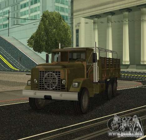 Sand Barracks HD para GTA San Andreas left