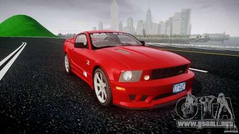 Saleen S281 Extreme - v1.2 para GTA 4 vista hacia atrás