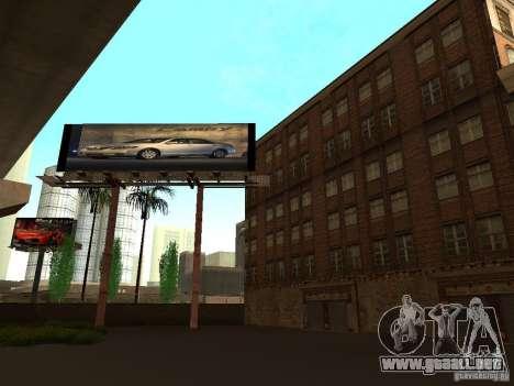 Nuevo centro de texturas Los Santos para GTA San Andreas quinta pantalla