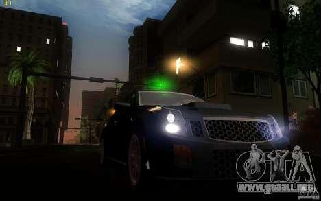 Cadillac CTS-V para visión interna GTA San Andreas