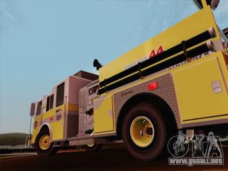 Seagrave Marauder II BCFD Engine 44 para las ruedas de GTA San Andreas