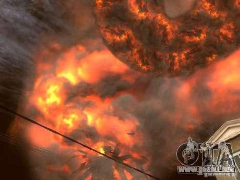 Atomic Bomb para GTA San Andreas segunda pantalla