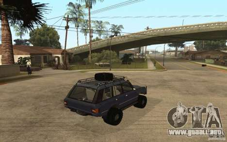 Range Rover Off Road para GTA San Andreas left