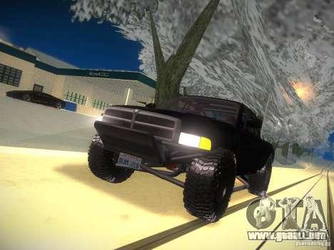 Dodge Ram Prerunner para la vista superior GTA San Andreas