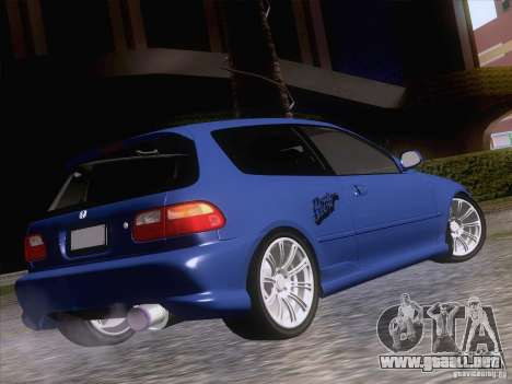 Honda Civic IV GTI para GTA San Andreas left