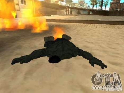 Hulk Skin para GTA San Andreas sucesivamente de pantalla