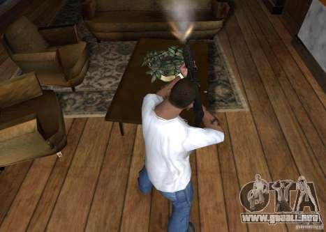 HK 416 para GTA San Andreas tercera pantalla