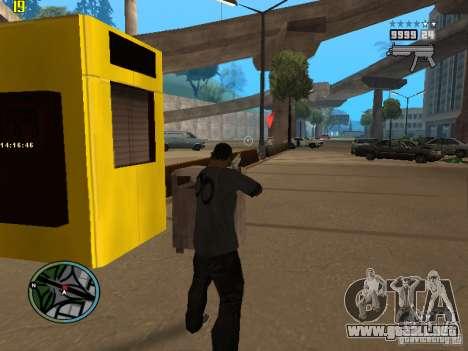 GTA IV  San andreas BETA para GTA San Andreas tercera pantalla