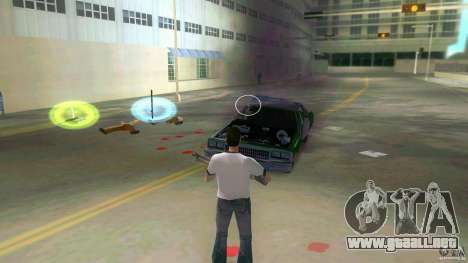 No death mod para GTA Vice City sucesivamente de pantalla