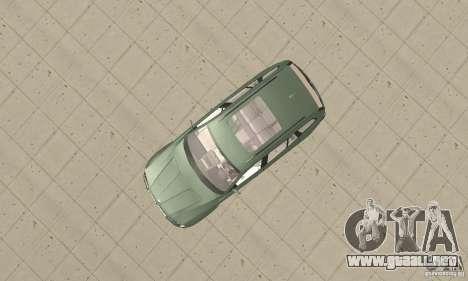 BMW X3 2.5i 2003 para la visión correcta GTA San Andreas