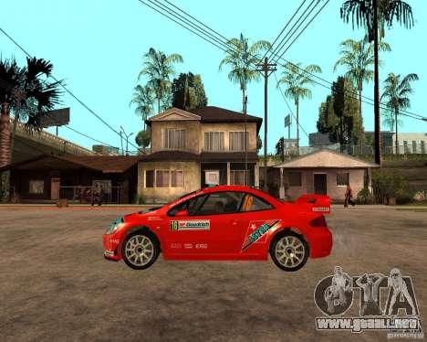 Peugeot 307 WRC para GTA San Andreas left
