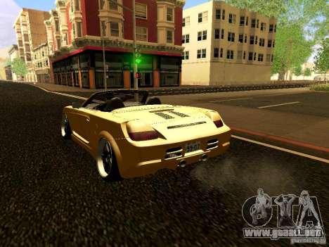 Toyota MR-S para la visión correcta GTA San Andreas