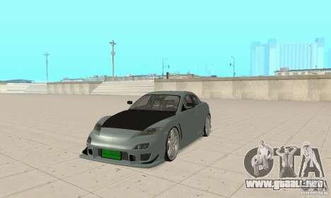 Mazda RX-8 Tuning para GTA San Andreas left