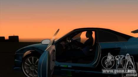Toyota MR2 Drift para visión interna GTA San Andreas