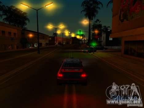 ENBSeries by AlexKlim para GTA San Andreas sucesivamente de pantalla