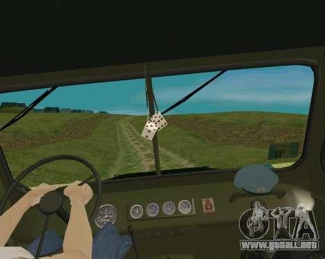 UAZ 31512 para la visión correcta GTA San Andreas