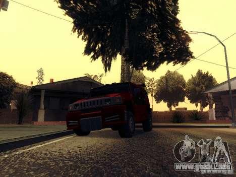 ENBSeries v1 para GTA San Andreas segunda pantalla