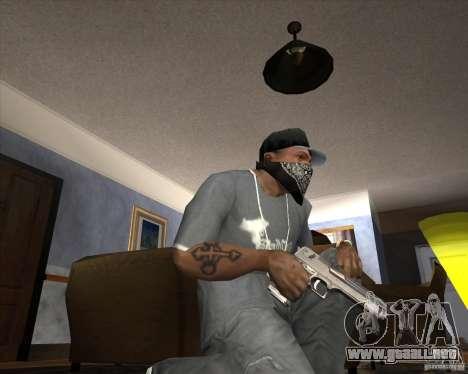 Jarra Mono Arsenal v1.2 para GTA San Andreas novena de pantalla