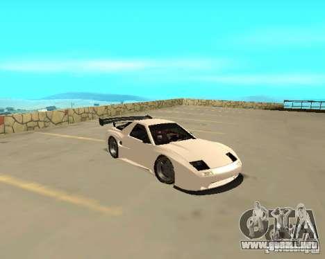Mazda RX-7 FC - MadMike: Version.2 para GTA San Andreas vista posterior izquierda