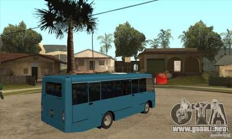 Bogdan A0921 turística para la visión correcta GTA San Andreas