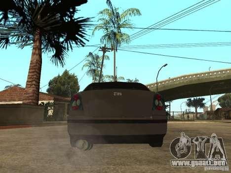 Skoda Octavia Custom Tuning para GTA San Andreas vista posterior izquierda