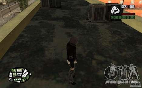 Alex Mercer v2.0 para GTA San Andreas tercera pantalla