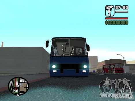Ikarus 260.51 para GTA San Andreas left