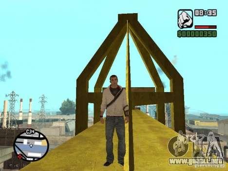 Desmond Miles para GTA San Andreas sexta pantalla
