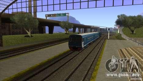 Un nuevo algoritmo de tren 5 para GTA San Andreas sucesivamente de pantalla