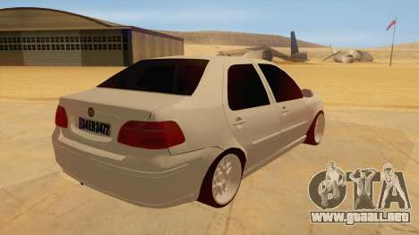 Fiat Albea para la visión correcta GTA San Andreas