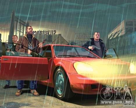 Imágenes de arranque en el estilo del GTA IV para GTA San Andreas sucesivamente de pantalla