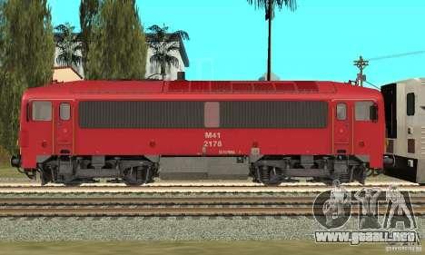 M41 Locomotora Diesel para GTA San Andreas left
