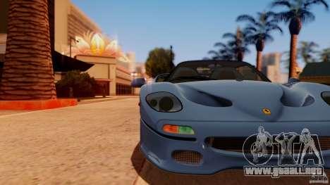 Ferrari F50 Coupe v1.0.2 para GTA San Andreas vista posterior izquierda