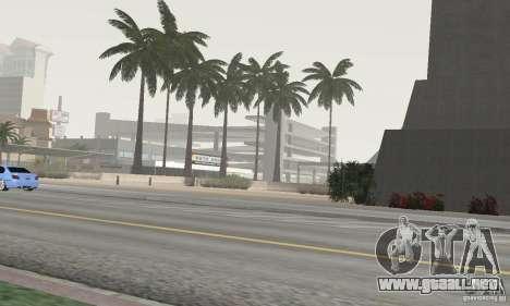 Project Oblivion Palm para GTA San Andreas sucesivamente de pantalla