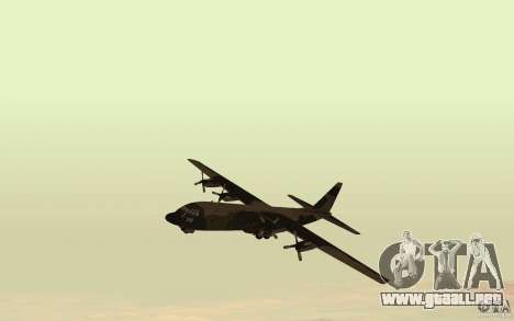 C-130 From Black Ops para GTA San Andreas left