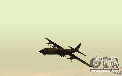C-130 From Black Ops para GTA San Andreas left