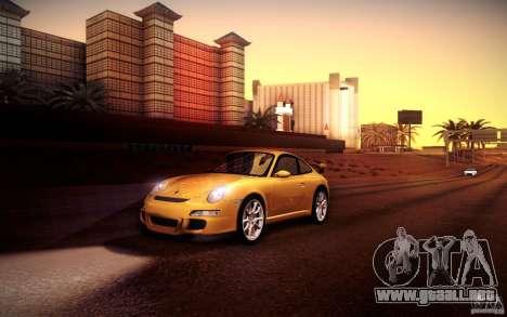 Porsche 911 GT3 (997) 2007 para GTA San Andreas interior