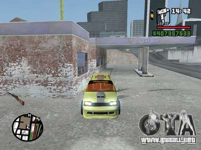 1111 OKA (tuning) para visión interna GTA San Andreas