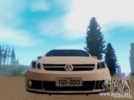 Volkswagen Voyage G5 Roda Passat CC para GTA San Andreas vista posterior izquierda