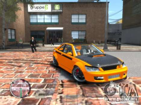Sultan RS HD FreeStyle Team para GTA 4