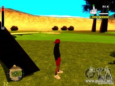 Piel vago v1 para GTA San Andreas segunda pantalla