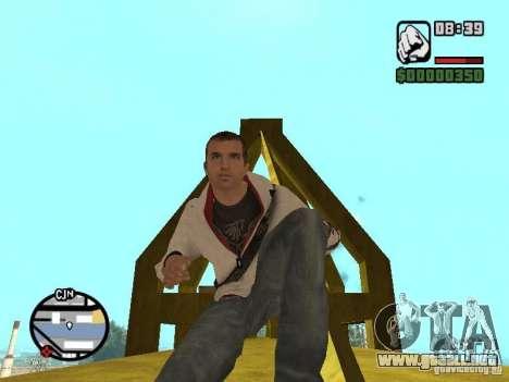 Desmond Miles para GTA San Andreas séptima pantalla