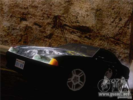 Vinilo Viktor Tsoi para GTA San Andreas vista hacia atrás